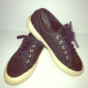 Navy Superga sneakers Cote classic size medium